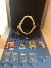 Saltwater fishing rigs (5) fish finder 1 Oz. 1/0 Circle & Bonus Shark Teeth.