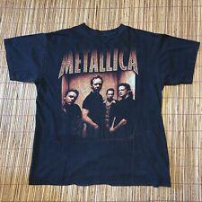 Vintage Metallica 1998 Reload Summer Tour T Shirt Concert Metal Band Tee Large L