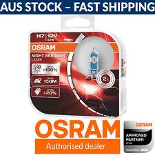 OSRAM Night Breaker Laser +150% H7 Car Headlight Bulbs x2 (FKA 'Next Gen')