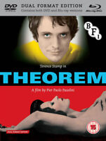 Theorem Blu-Ray (2013) Terence Stamp, Pasolini (DIR) cert 15 2 discs ***NEW***