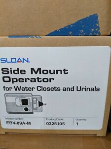 Sloan EBV-89A-M Optima Side Mount Operator Automatic Flush For Closets & Urinals