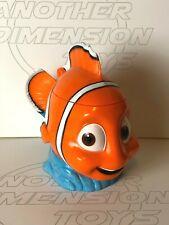 Finding Nemo Cup Disney On Ice Mug Plastic Lidded Orange Clown Fish 3D Gift