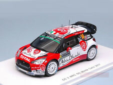 Spark Model 1:43 S5156 Citroen DS3 WRC #14 Rally Montecarlo 2017 Breen/Martin