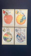 1987 SIR ISAAC NEWTON STAMPS PHQ CARDS WITH A NORTH DEVON FIRST DAY C.D.S