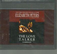 THE LOVE TALKER by ELIZABETH PETERS ~ UNABRIDGED CD'S AUDIOBOOK