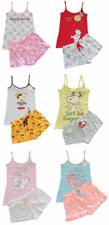 Ladies DISNEY Short Pyjamas Women Girls Cami Vest Top Summer PJs 6 - 20 Primark