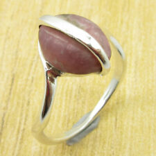 Rhodochros?ite 925 Silver Overlay Jewellery | Gem WELL MADE Ring Size 7.5 NEW