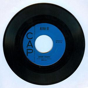 Philippines ERNING OCAMPO & HIS HAWAIIAN ISLANDERS Aloha OE OPM 45 rpm Record