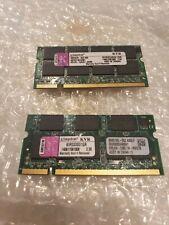 Kingston PC2700 1 GB SO-DIMM 333 MHz DDR SDRAM Memory (KVR333SO/1GR)