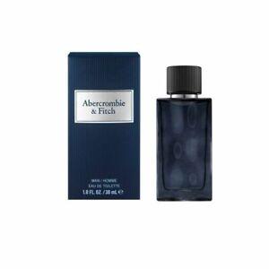 Abercrombie & Fitch 1oz First Instinct Blue Men Eau de Cologne New, Sealed Box