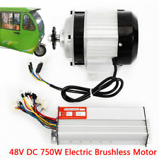 48V Brushless Electric Motor Controller for Diy tricycle E-bikes Parts 750W Fast