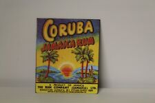 DOLLS HOUSE ( Retro  Metal Sign =  CORUBA JAMAICA RUM
