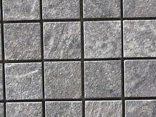 Emil Ceramica ANTHOLOGY STONE Mosaik 2,8/2,8 Dark Grey Nat. Rett.Feinsteinzeug