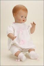 56cm Schildkrot replica german collector doll Baby Blond