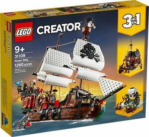 LEGO 31109 Creator - Pirate Ship (Brand New Sealed)