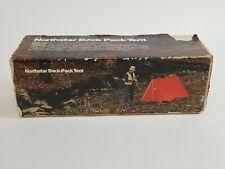 Vintage Northstar Back Pack Tent - Sealed Box - Orange NT-2001