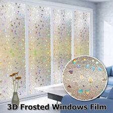 3D Decorative Privacy Window Film Glass Sticker Tint Anti Uv Rainbow Effect