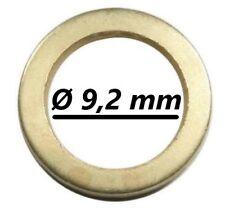 50 Fitschenringe Außen Ø13,2 mm Innen Ø9,2 mm Unterlegscheibe Türen Scheibe Tür