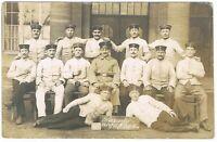 "Ansichtskarte - Soldatenkarte/Gruppe - Tafel ""Kriegsjahr 1914/15 4. Korps 8"""