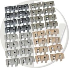 AIRSOFT RAIL PANELS COVERS ACM FTM BLACK TAN GREEN 32 PCS RIS DE FG OD
