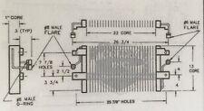 79 80 81 1979 1980 NISSAN 280ZX ac condenser fit Datsun OEM 27650P7101 AC8090