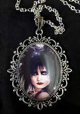 Siouxsie Large Antique Silver Pendant Necklace Punk Goth Icon Hyaena Banshee CD