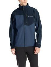 Columbia Men's Tall Prime Peak Softshell Jacket, Night Tide/Collegiate Navy  4XT
