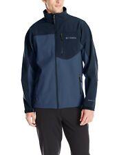 Columbia Men's Tall Prime Peak Softshell Jacket, Night Tide/Collegiate Navy  4XT
