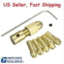 Mini Twist Drill Tool Chuck Set Small Electric Drill Bit Collet Drill Adapter