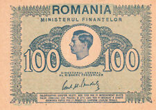 More details for romania p.78 1945 100 lei banknote unc
