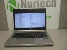 "HP Elitebook 8460p 14"" Core i5 2.6GHz 4GB/160GB DVDRW Webcam Linux Laptop + AC*"
