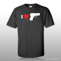 I Love my P229 Railed T-Shirt Tee Shirt Gildan S M L XL 2XL 3XL Cotton Sig Sauer