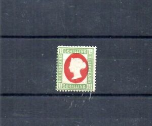 BRITISH HELIGOLAND.  1873 SCOTT# 12.  QUEEN VICTORIA.  CEDED TO GERMANY IN 1890.