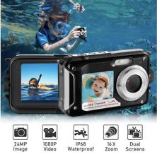 Digital Camera Full HD 1080P Underwater Camera 24MP Video Recorder Camcorder