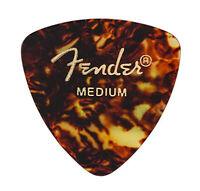 Fender 346 Classic Celluloid Guitar Picks - SHELL - MEDIUM - 12-Pack (1 Dozen)