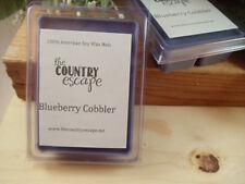 Blueberry Cobbler Soy Wax Clamshell Melt Tart- 2wks of Fragrance