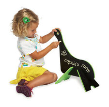 Dino Doodle & Draw Chalk Black Board Dinosaur Educational Art Toy Gift Set Kids