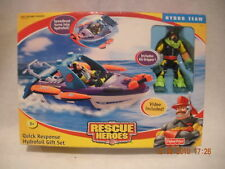 Rescue Heroes Quick Response Hydrofoil Gift Set New!
