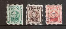 Nederland    Nummer  141/143      Gebruikt.   (W0015)