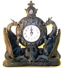 pendule dragons médiévaux - Décoration moyen âge