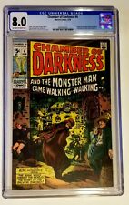 Chamber Of Darkness #4 CGC 8.0 Conan Like Character By Barry Windsor-Smith 1970