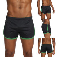 LD_ MEN'S SUMMER BREATHABLE MESH SHORTS GYM SPORTS RUNNING CASUAL SHORT PANTS