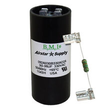 30-36 uF x 330 VAC BMI # 092A030B330AD2A Motor Start AC Capacitor with Resistor