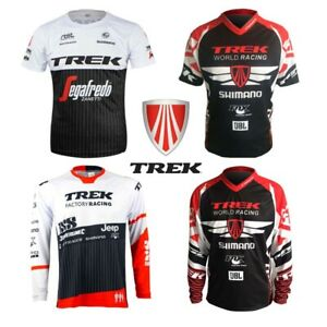 TREK T-SHIRT SEGAFREDO ZANETTI RACING ENDURO DH TEAM CYCLING RACE MTB Sports
