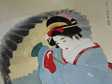 Japanese Beauty Bijin-ga Painting Art Book SHINSUI ITO Complete Works 2 Nihon-ga