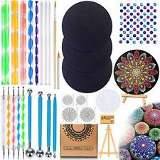 Mandala Dotting Tools Set with 3 Cardboards - 31 Pieces Professional...