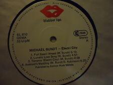 Michael Bundt – Electri City - Blubber Lips – BL 810 - LP 1980