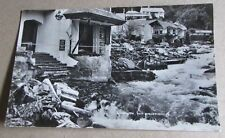 1952 Flood Damage Scene Real Photo Postcard - Lynmouth Devon Devonshire (c)