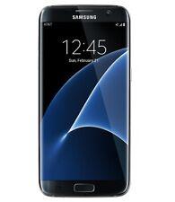 New listing New Black Verizon Gsm Unlocked 32Gb Samsung S7 Edge Sm-G935V Phone Kj50