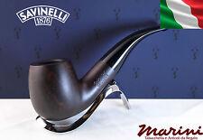 Pipa Pipe Capitol Bruyere by Savinelli radica verniciata scura 616 KS 9mm